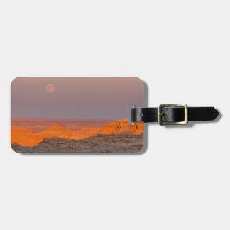 USA, South Dakota, Badlands National Park Luggage Tags