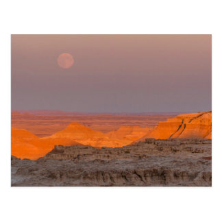 USA, South Dakota, Badlands National Park Postcard