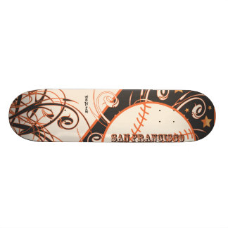 USA Sports Team San Francisco Bay Area Baseball Skate Deck