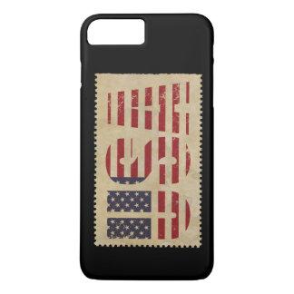 USA Stamp Vintage iPhone 7 Plus Case