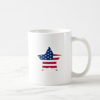 USA Star American Flag Coffee Mug