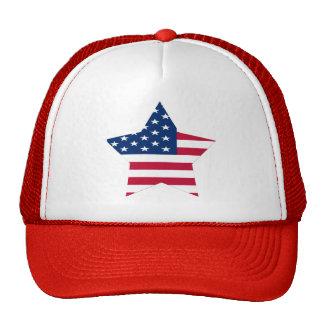 USA Star American Flag Trucker Hat