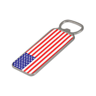 USA Stars and Stripes Flag Magnetic Bottle Opener