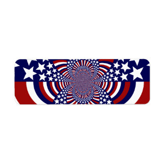 USA Stars and Stripes Patriotic Design