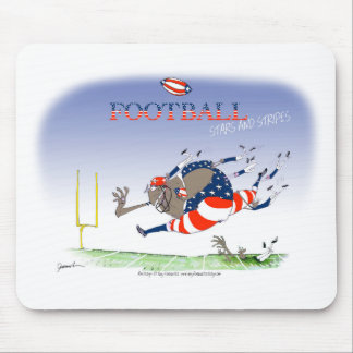 USA stars and stripes, tony fernandes Mouse Pad