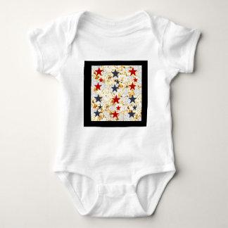 USA STARS BABY BODYSUIT