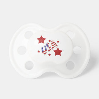 USA Stars Baby Pacifier