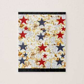 USA STARS JIGSAW PUZZLE