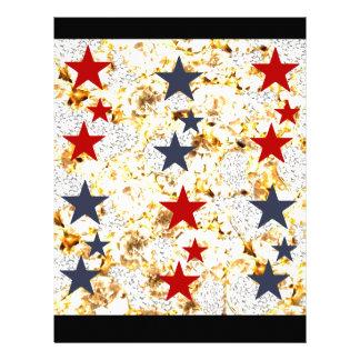 USA STARS LETTERHEAD