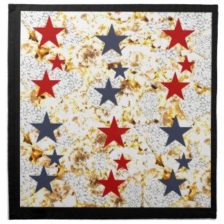 USA STARS NAPKIN