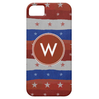 USA Stars Pattern iPhone 5 Cases