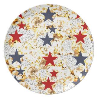 USA STARS PLATE