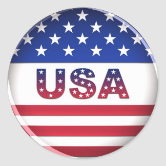 USA - Sticker