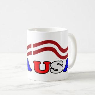 USA & Stripes Coffee Mug