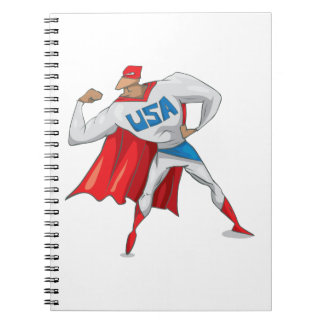 USA Super Hero Notebooks