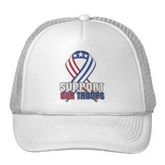 USA Support Our Troops Trucker Hat