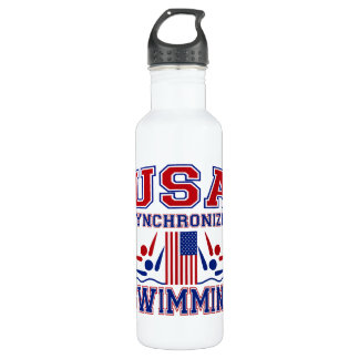 USA Synchronized Swimming 710 Ml Water Bottle