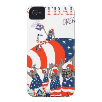 USA team work, tony fernandes iPhone 4 Case-Mate Case