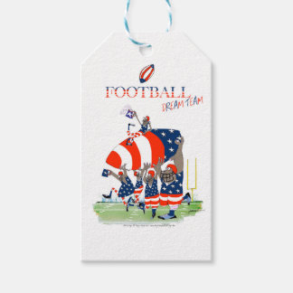 USA team work, tony fernandes Pack Of Gift Tags