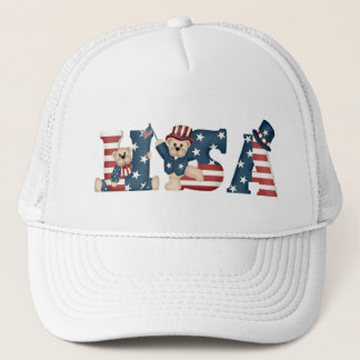USA Teddy Bears Hat