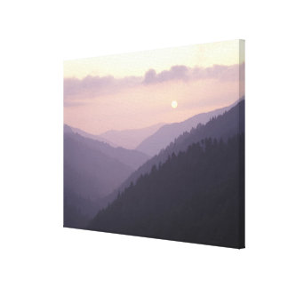 USA, Tennessee. Great Smokey Mountains Canvas Print