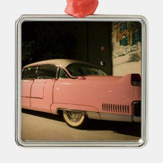 USA, Tennessee, Memphis, Elvis Presley 3 Metal Ornament