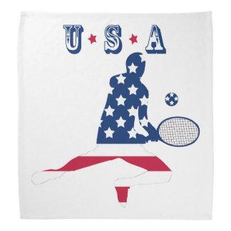 USA Tennis American player Bandana