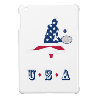 USA Tennis American player Case For The iPad Mini