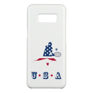 USA Tennis American player Case-Mate Samsung Galaxy S8 Case
