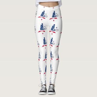 USA Tennis American player Leggings