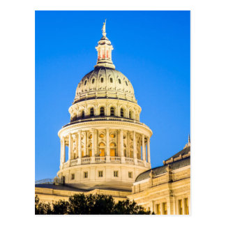 USA, Texas, Austin. Capitol Building (1888) 2 Postcard