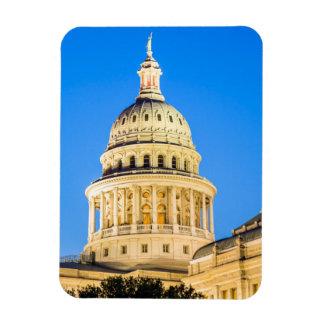 USA, Texas, Austin. Capitol Building (1888) 2 Rectangular Photo Magnet