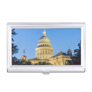 USA, Texas, Austin. Capitol Building (1888) 3 Business Card Case