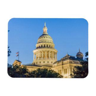 USA, Texas, Austin. Capitol Building (1888) 3 Rectangular Photo Magnet