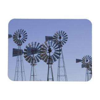 USA, TEXAS, Lubbock: American Wind Power Center Rectangular Photo Magnet
