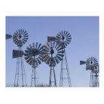USA, TEXAS, Lubbock: American Wind Power Centre Post Card