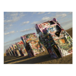 USA, TEXAS, Panhandle Area, Amarillo: Cadillac Postcard