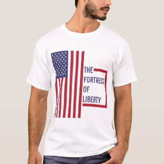 USA - The Fortress of Liberty T-Shirt