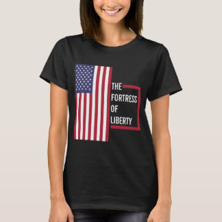 USA - The Fortress of Liberty Women's T-Shirt. T-Shirt