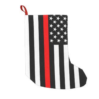USA Thin Red Line Small Christmas Stocking