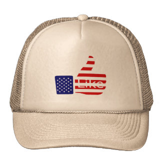 USA Thumbs Up Mesh Hat