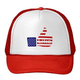 USA Thumbs Up Mesh Hat