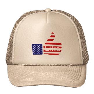 USA Thumbs Up Trucker Hat