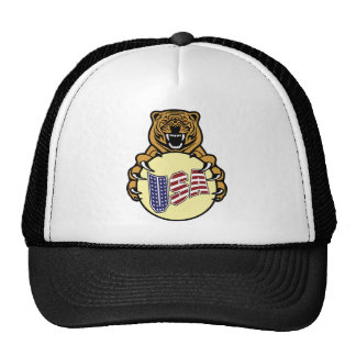 USA Tiger Trucker Hat