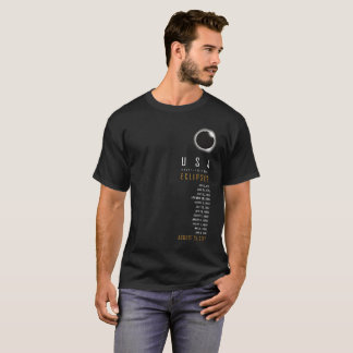 USA Total Eclipse Shirt List Solar Eclipse Watch