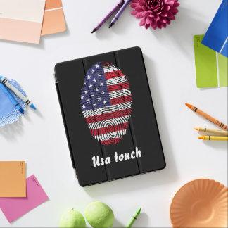 Usa touch fingerprint flag iPad air cover