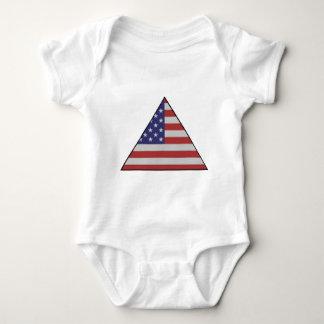 USA TRIANGLE.jpg Baby Bodysuit