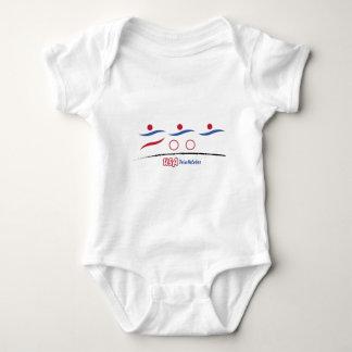 USA Triathletes Baby Bodysuit