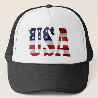 USA TRUCKER HAT