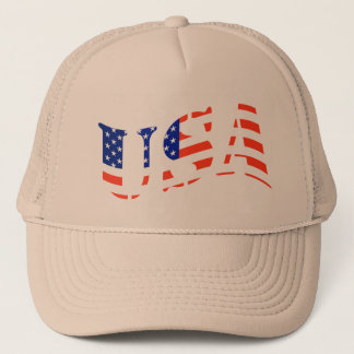 USA TRUCKERS HAT